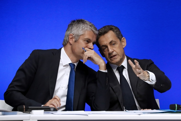 Laurent Wauquiez et Nicolas Sarkozy