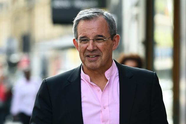 Thierry Mariani, à Paris le 11 juillet 2017