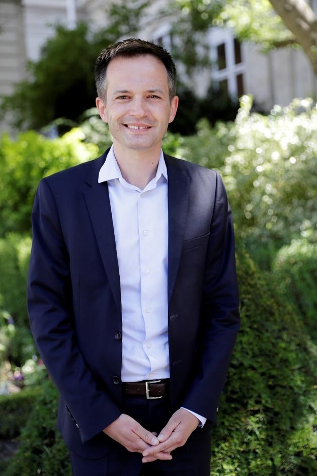 Pierre-Yves Bournazel, élu LR à l'Assemblée nationale à Paris, le 19 juin 2017
