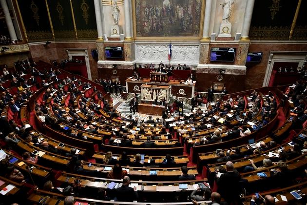 L'Assemblée nationale lors des questions au gouvernement le 31 octobre 2017.
