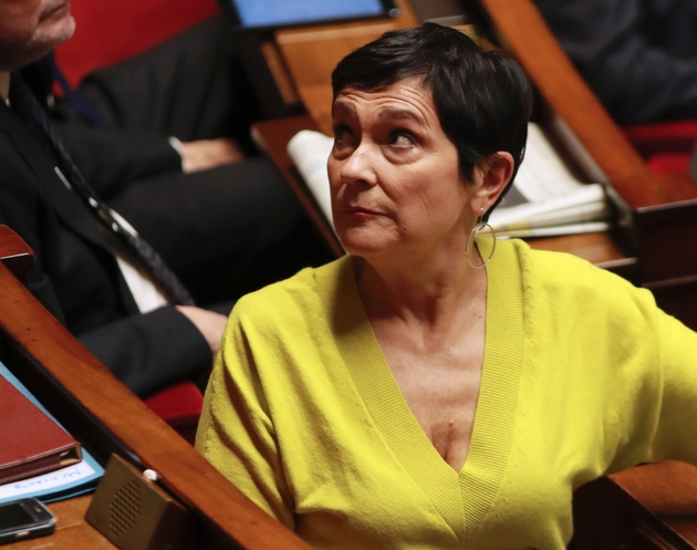 Marie-Arlette Carlotti le 16 novembre 2016 à l'Assemblée nationale à Paris