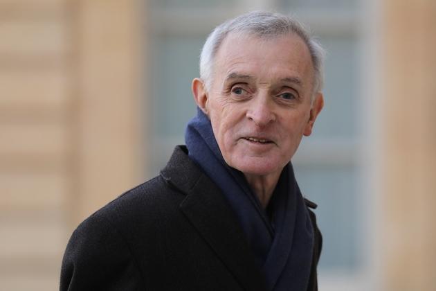 Le climatologue Jean Jouzel arrive à l'Elysée, le 18 mars 2019 à Paris