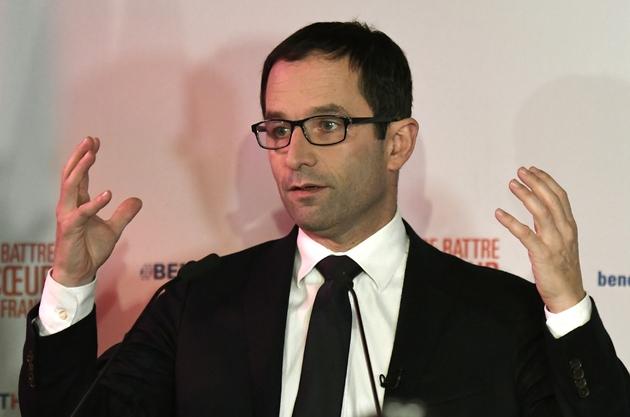 Benoît Hamon le 22 janvier 20107 à Paris