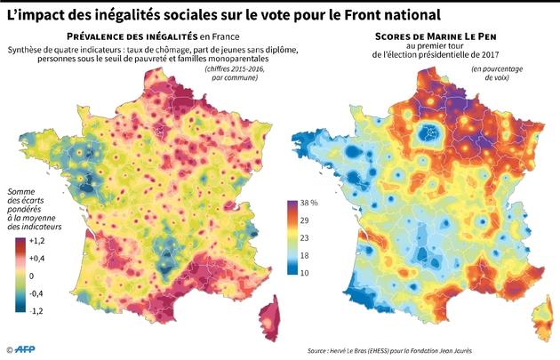 L'impact des inégalités sociales sur le vote pour le Front national