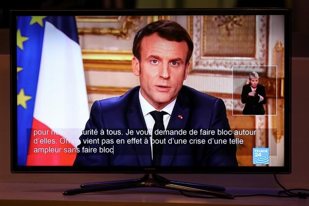 Intervention d'Emmanuel Macron le 12 mars 2020 au 20H00 de TF1