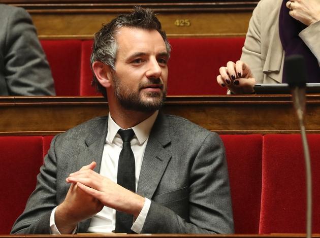 Le députée Florian Bachelier le 28 novembre 2017