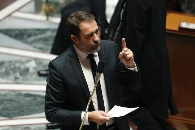 Le ministre de l'Intérieur Christophe Castaner le 4 décembre 2018 à l'Assemblée nationale à Paris