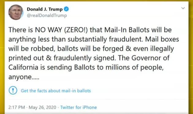 Tweet, Trump