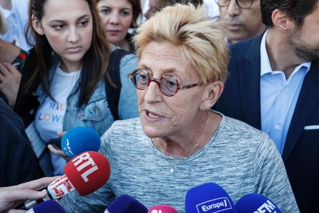 Isabelle Balkany à Levallois-Perret, le 14 septembre 2019