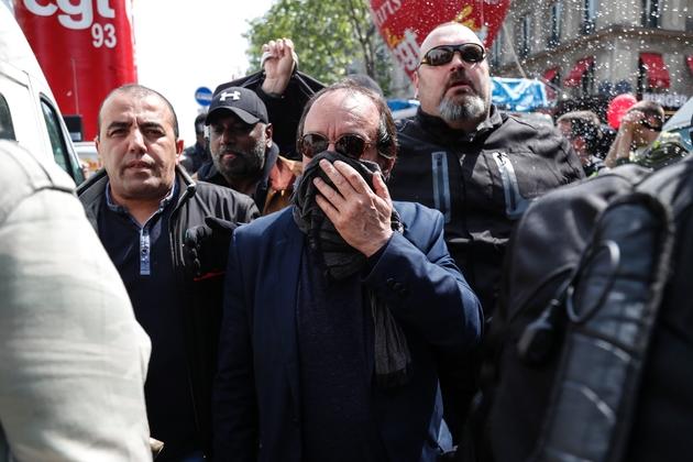 Le secrétaire général de la CGT Philippe Martinez lors du défilé du 1er mai 2019 à Paris