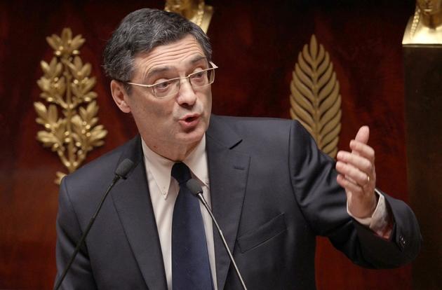 Le député UMP Patrick Devedjian à l'Assemblée nationale, en décembre 2011 à Paris
