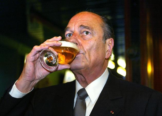 Jacques Chirac, le 31 janvier 2002 à Provins