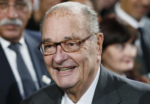 L'ancien président de la République Jacques Chirac le 21 novembre 2014 à Paris