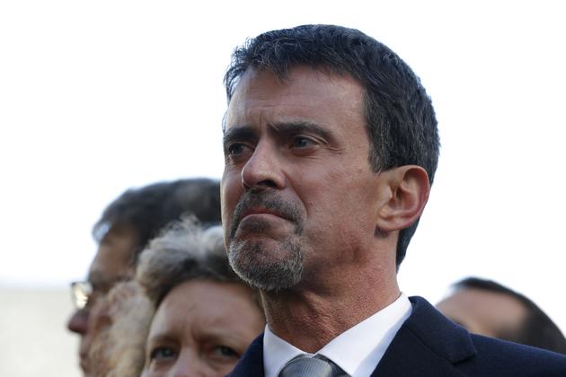 Manuel Valls portant la barbe