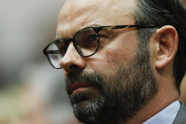 Edouard Philippe portant la barbe
