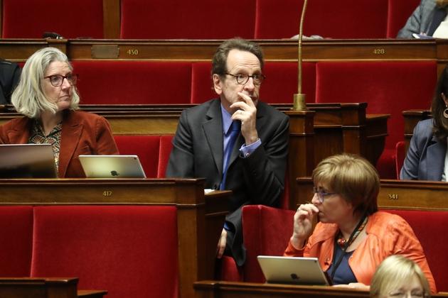 Le patron des députés LREM Gilles Le Gendre à l'Assemblée nationale, le 14 janvier 2020 à Paris