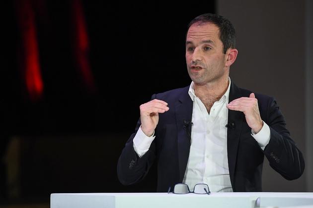 Benoît Hamon à Paris le 11 avril 2019