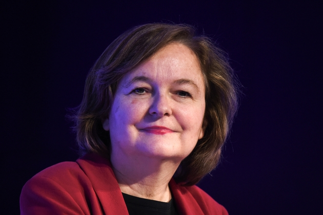 Nathalie Loiseau, tête de liste LREM pour les Européennes, le 25 avril 2019 à Paris