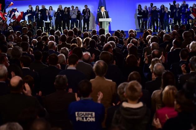 Meeting de François Fillon, le 29 janvier 2017 à Paris