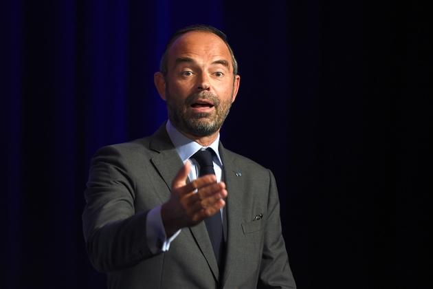 Le Premier ministre Edouard Philippe, à Tours le 11 septembre 2018