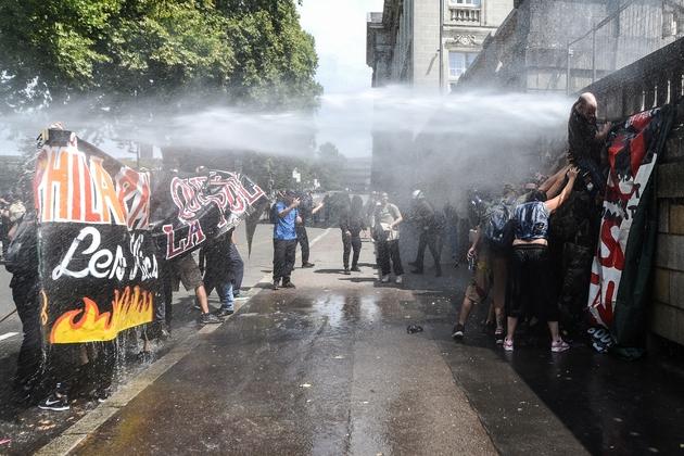 Manifestation à Nantes en mémoire de Steve Maia Caniço, le 3 août 2019