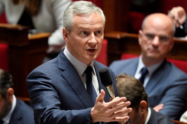 Le ministre de l'Economie, Bruno Le Maire, à l'Assemblée nationale à Paris, le 24 octobre 2018