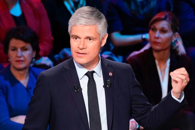 Le président de LR, Laurent Wauquiez, à Boulogne-Billancourt, le 10 avril 2019