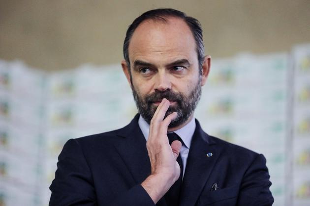 Le Premier ministre Edouard Philippe à Saint-Yrieix-la-Perche, en Haute-Vienne, le 21 décembre 2018