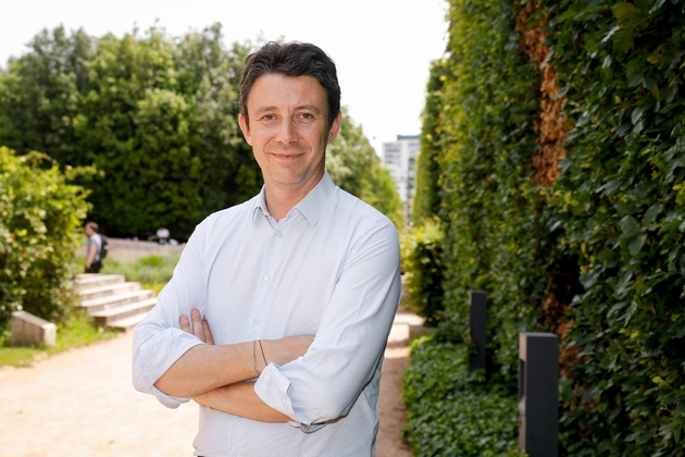 Benjamin Griveaux, candidat à la mairie de Paris, le 18 juin 2019
