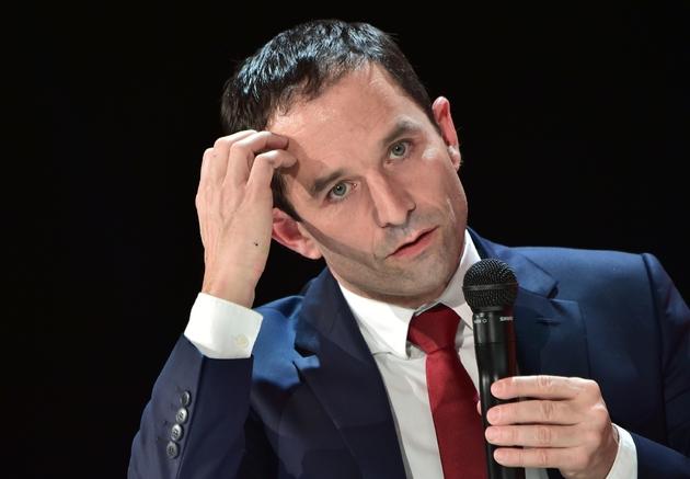 Benoît Hamon le 31 janvier 2015 à La Défense