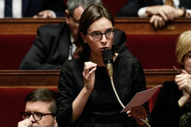 La députée Amélie de Montchalin, le 23 janvier 2018 à Paris