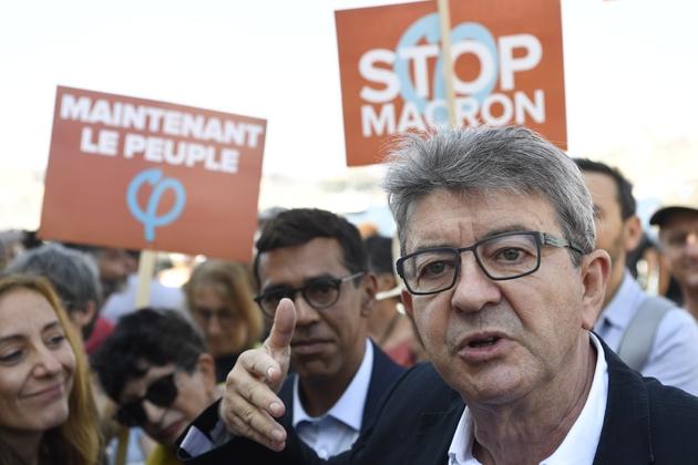 Jean-Luc Mélenchon à Marseille le 7 septembre 2018