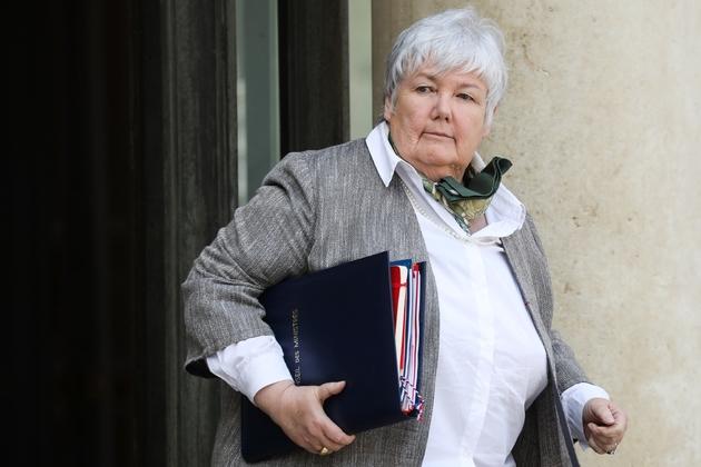 Jacqueline Gourault, ministre de la cohésion des territoires, le 22 mai à l'Elysée à Paris.
