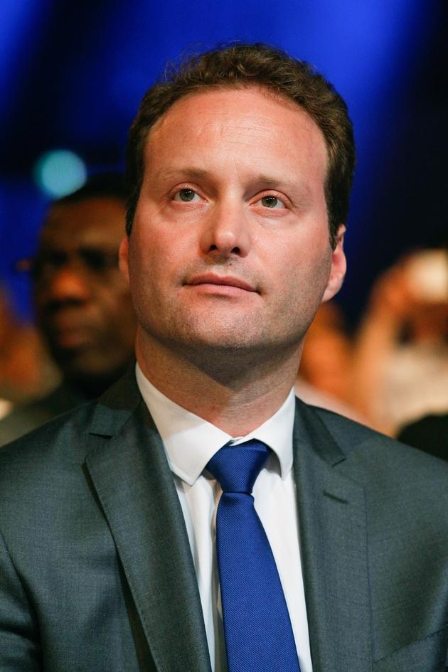 Le député La République en marche Sylvain Maillard, le 23 mai 2017 à Aubervilliers près de Paris