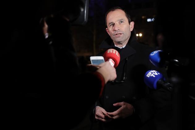 Benoît Hamon, leader du parti Générations, à Paris le 19 février 2019