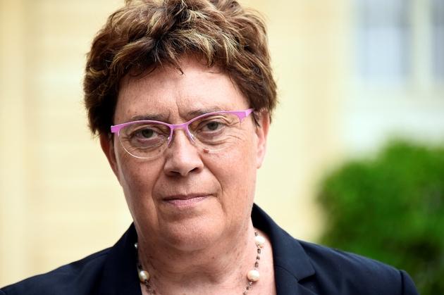 La députée Les Républicains (LR) Marianne Dubois le 28 juillet 2018 à l'Elysée
