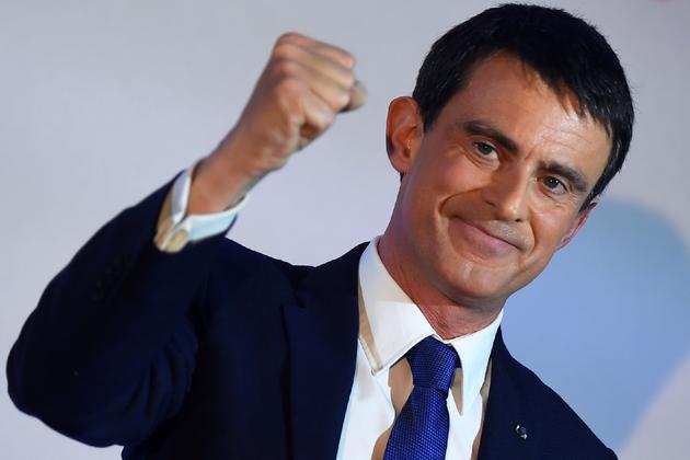 Manuel Valls, le 22 janvier 2017 à Paris