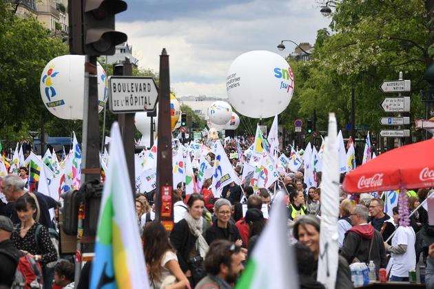 Manifestation contre la loi Blanquer le 18 mai 2019 à Paris