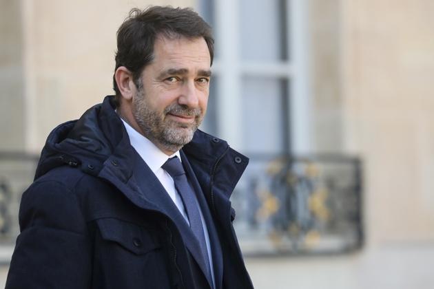 Christophe Castaner à l'Elysée à Paris, le 27 février 2019
