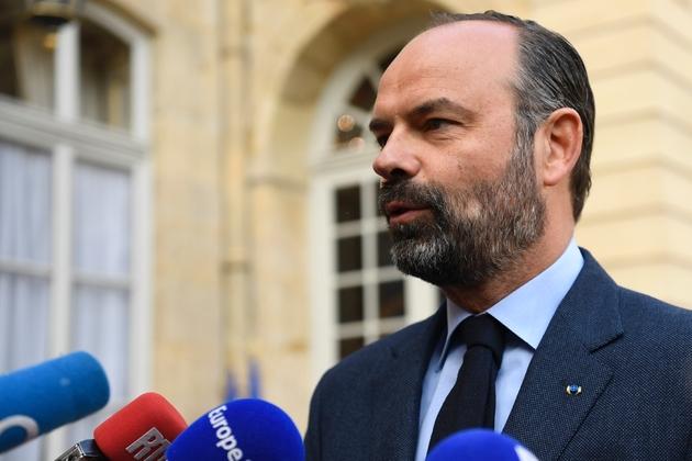 Edouard Philippe s'exprime devant la presse le 29 avril 2019 à Paris