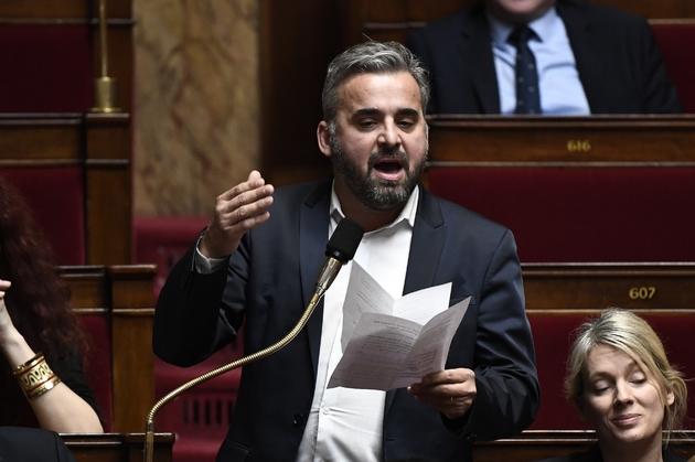 Alexis Corbière lors des questions au gouvernement à l'Assemblée nationale le 13 février 2019