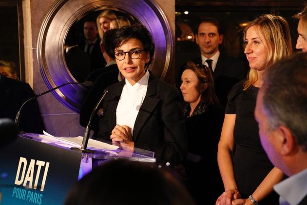 Rachida Dati à Paris le 7 novembre 2019