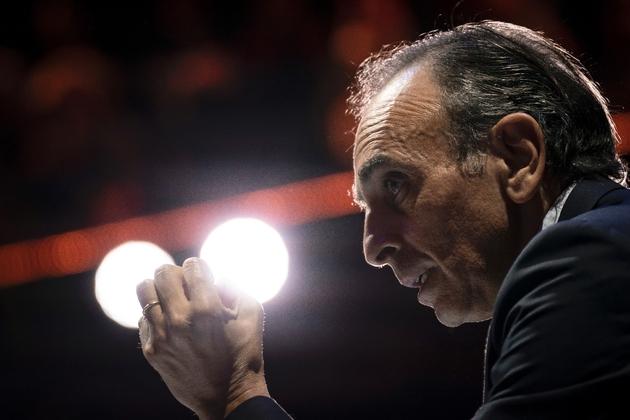 Eric Zemmour lors d'un débat le 25 avril 2019 à Paris