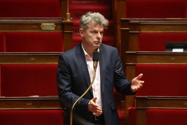 Fabien Roussel à l'Assemblée nationale le 21 mars 2020