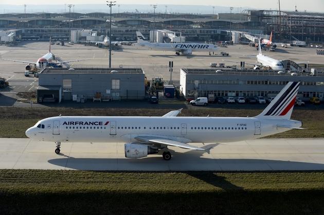 Aéroport de Roisy en février 2019
