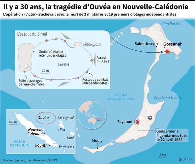 Il y a 30 ans, la tragédie d'Ouvéa en Nouvelle-Calédonie