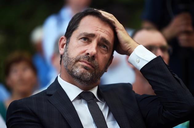 Le porte-parole du gouvernement Christophe Castaner à Carpentras, dans le sud de la France, le 14 juin 2017