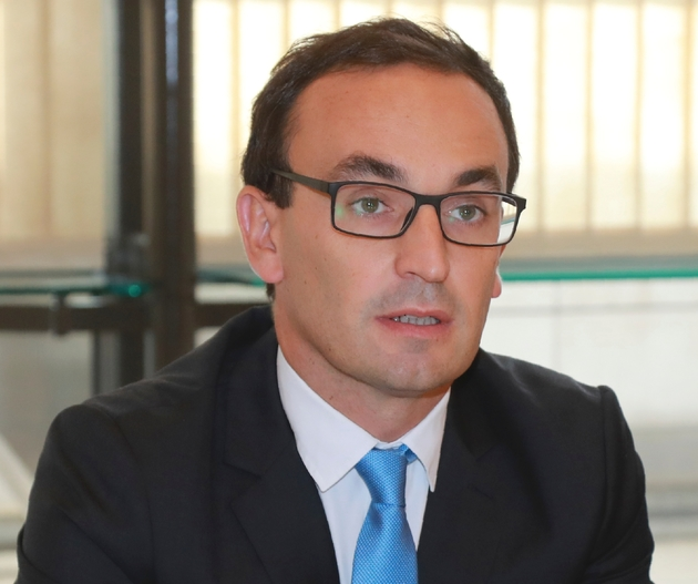 Thomas Cazenave, délégué interministériel à la transformation de l'Etat, le 13 septembre 2016 à Paris