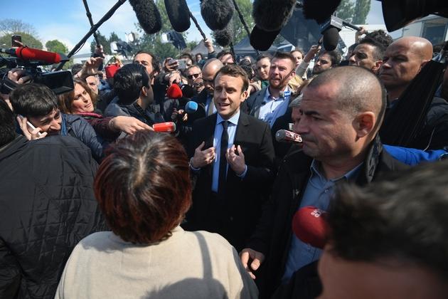 Emmanuel Macron de retour à Amiens auprès des salariés de Whirlpool