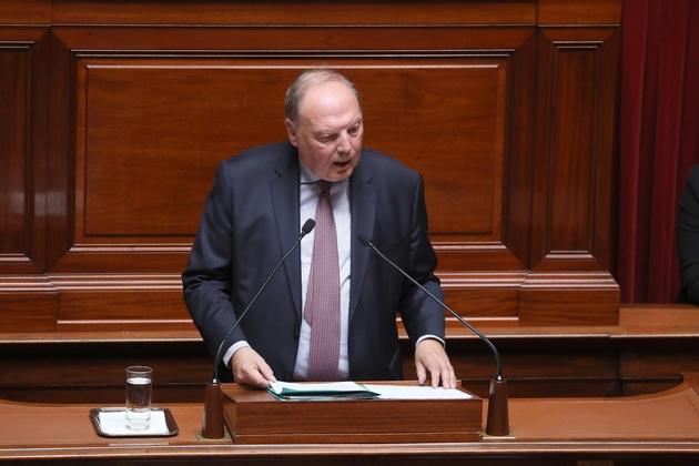 Hervé Marseille le 9 juin 2018 au Sénat